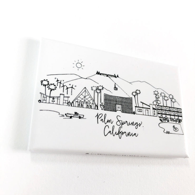 Palm Springs, California Skyline Magnet