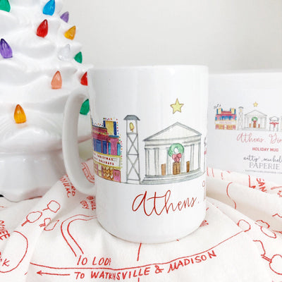 Athens, Georgia Holiday Mug