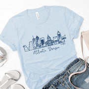 Atlanta, Georgia Skyline T-Shirt