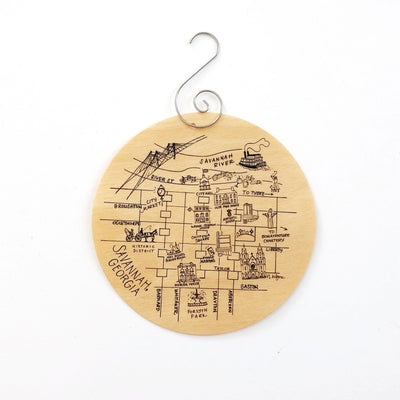 Savannah Birch Ornament