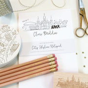New Orleans Hometown Pencil Set