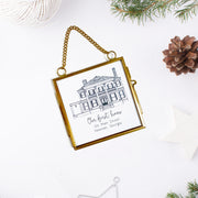 Custom House Portrait Ornament