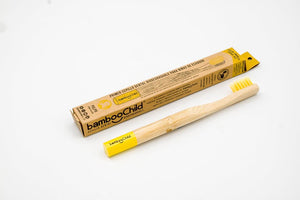 Cepillo dental biodegradable de bambú - niños
