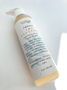 Exfoliating AHA Cleanser (with Lactic Acid & Papaya Enzyme)