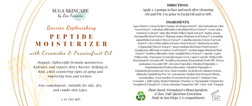 Barrier Replenishing Moisturizer with Ceramides & Passionfruit Oil