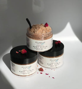 Exfoliating Rose & Aloe Salt Body Scrub