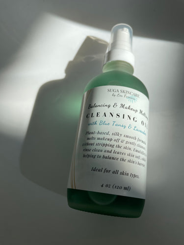 Makeup Melting & Balancing Cleansing Oil with Blue Tansy & Lavender