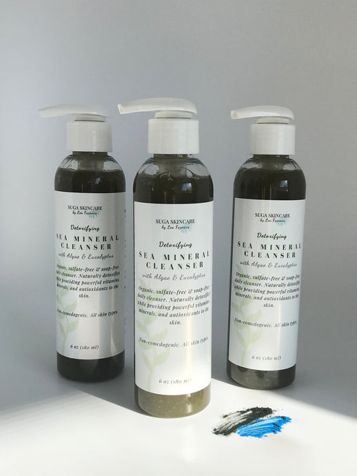 Detoxifying Sea Mineral Daily Cleanser (with Algae & Eucalyptus)