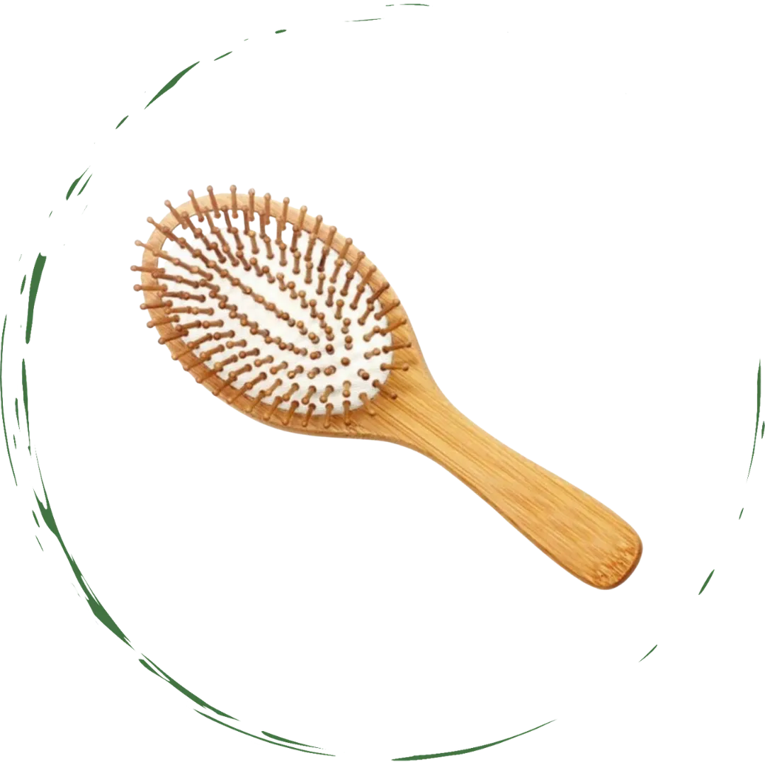 Natural Wooden Detangling Hair Brush