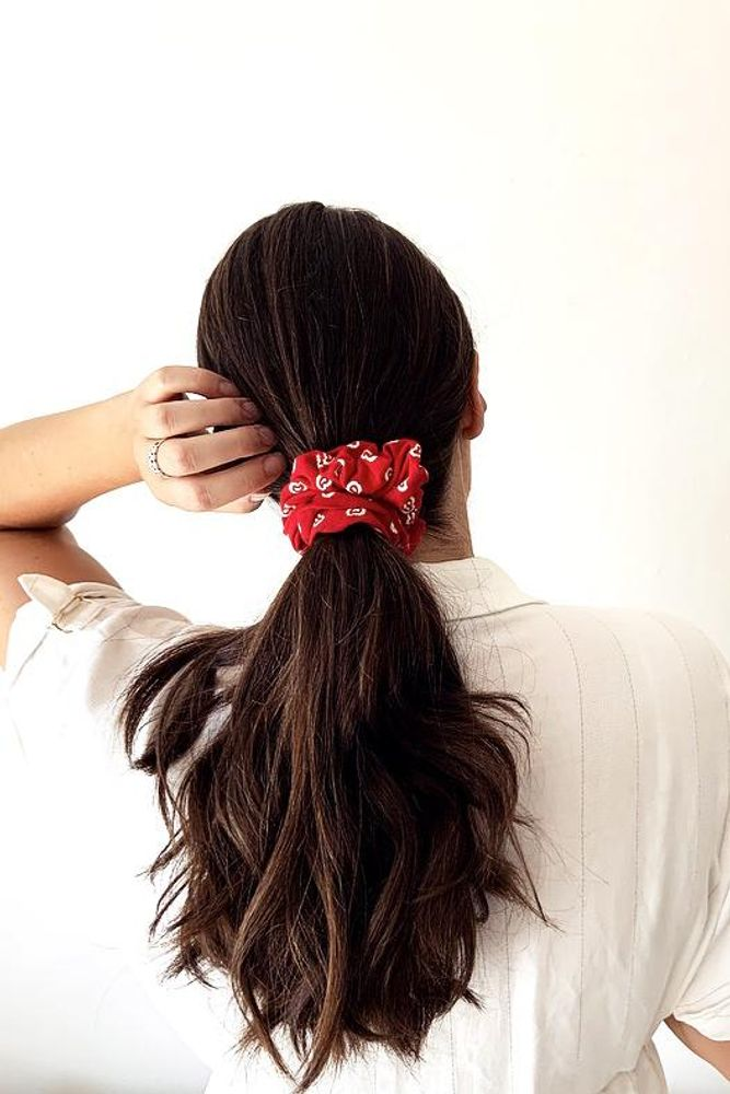 The Zero-Waste Scrunchie