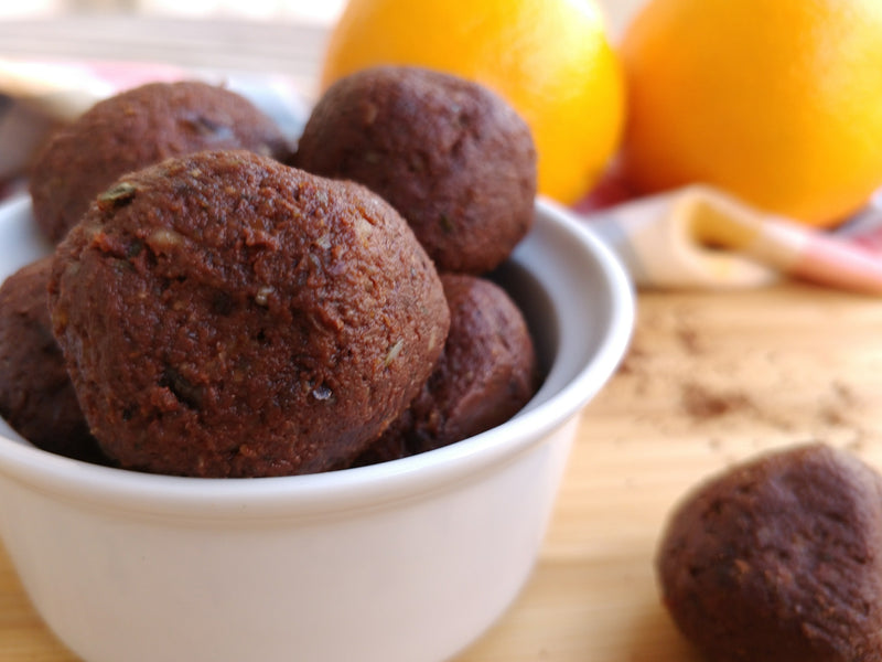 Chocolate-Orange energy balls