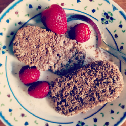 Weetabix with fruit