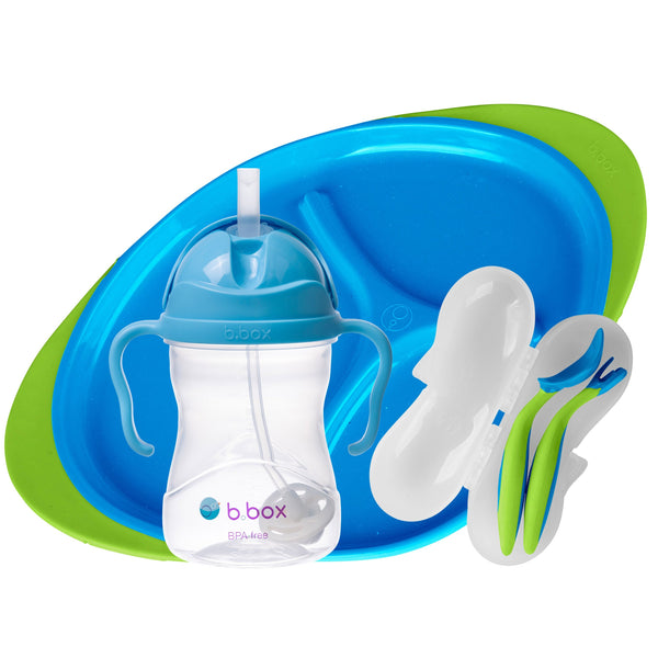 b.box Feeding Set - Ocean Breeze *NEW*