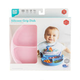 Bumkins Silicone Plate with Suction - Pink