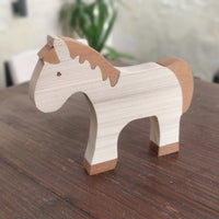 Wooden Toys - Horse. Locally hand made.
