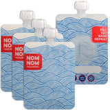 Nom-nom 4 WAVE reusable yogurt / smoothie pouches