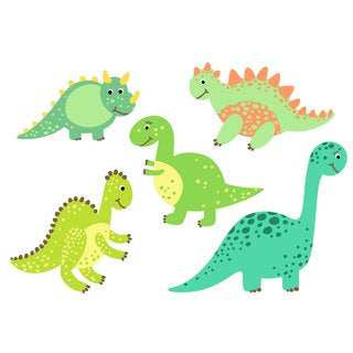 Waterproof lunch box sticker - Dino