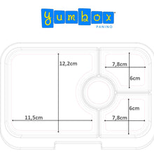 Load image into Gallery viewer, Yumbox Panino Measurements
