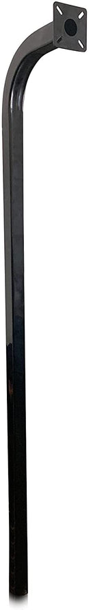 "Eagle Pedestal Standard Heavy Duty In-Ground 1/8"" Steel 72"" with 13"" Sweep Gooseneck"