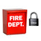 Eagle Fire Department Box EFB-2000 with Combination Padlock EG718