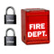 EAGLE-EG720 Fire Department Box EFB-2070 w/ 2Pcs Combination Padlock EG717
