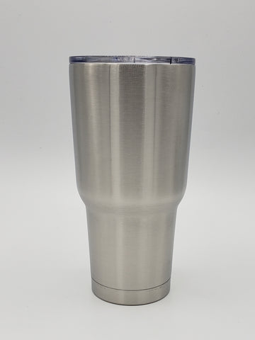 Custom 30 oz regular tumbler - one color and one decal