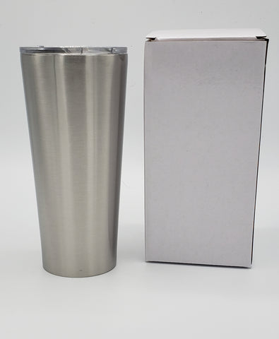 Custom 24 oz Straight Tumbler - one color and one decal