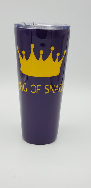 Custom 32 oz Straight Tumbler - one color and one decal