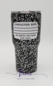 24 oz composition notebook