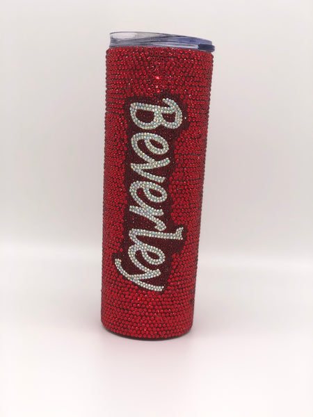 Custom bling 20 oz tumbler