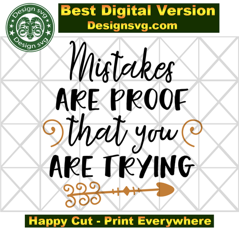 40+ Proof You're Trying – Dxf/Svg/Png/Pdf Cut & Print Files DXF