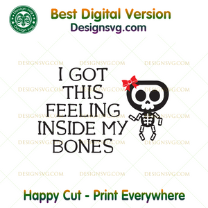 38+ Inside My Bones Svg Crafter Files