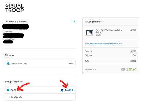 how to connect paypal and shopify