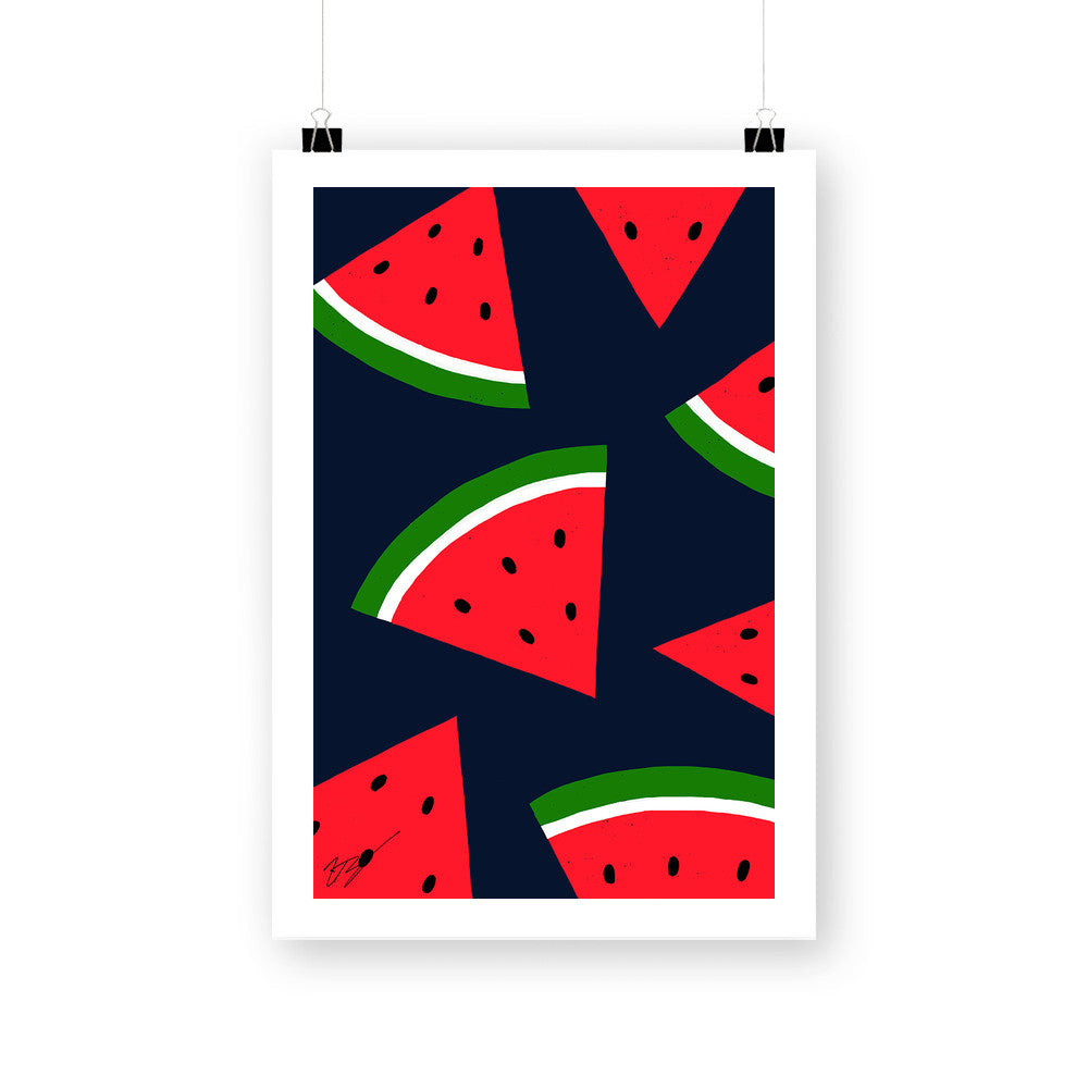 Watermelons by Magic Pineapple Art