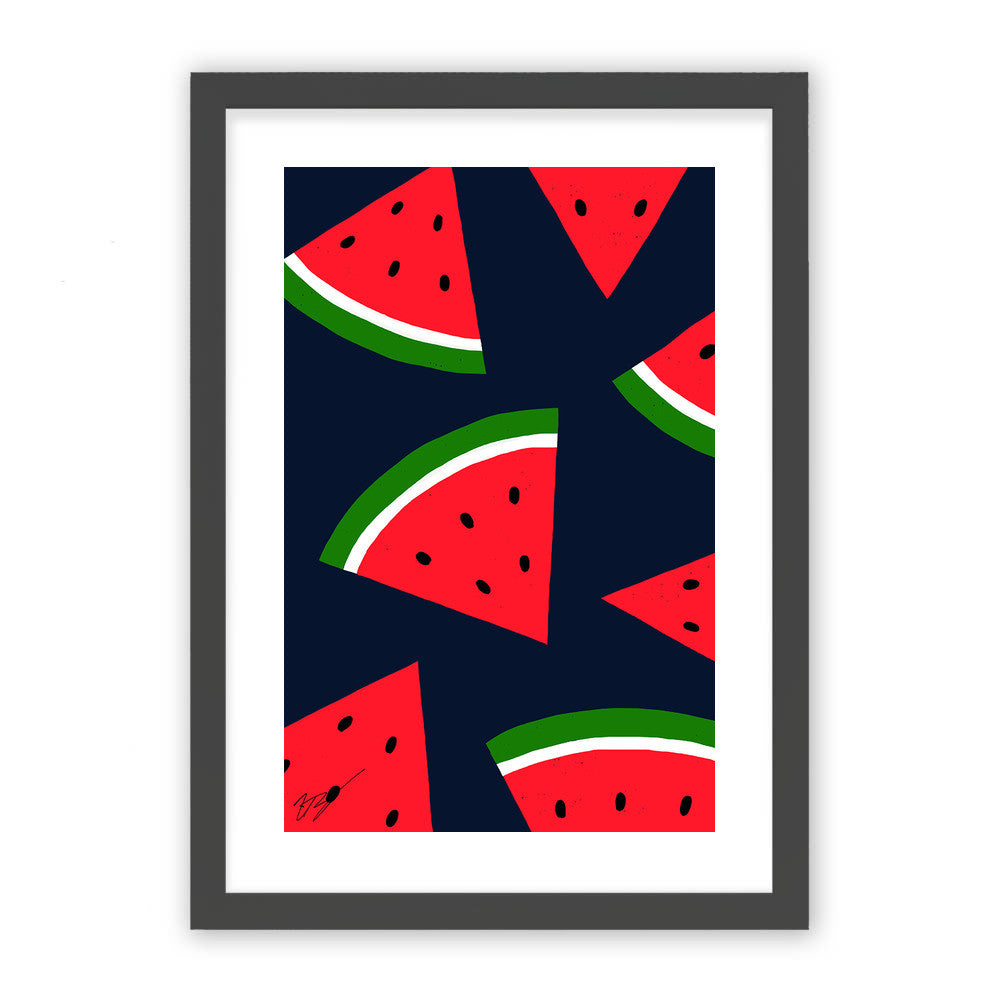 Watermelons by Magic Pineapple Art  - Magic Pineapple Art, Visualtroop - 1