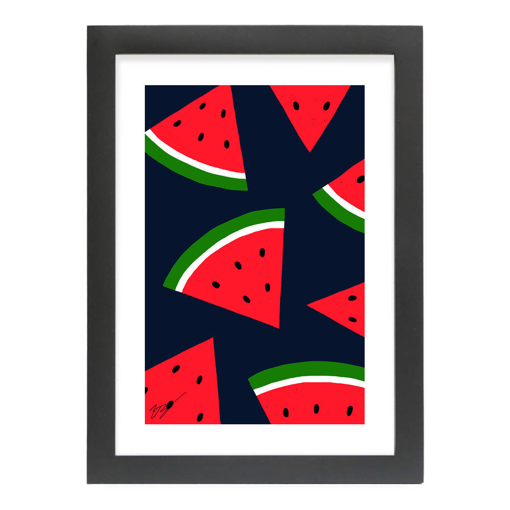 Watermelons by Magic Pineapple Art  - Magic Pineapple Art, Visualtroop - 5
