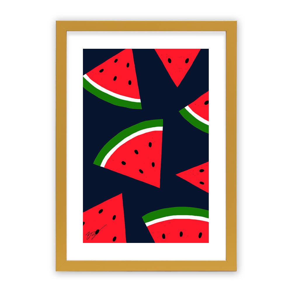 Watermelons by Magic Pineapple Art  - Magic Pineapple Art, Visualtroop - 4