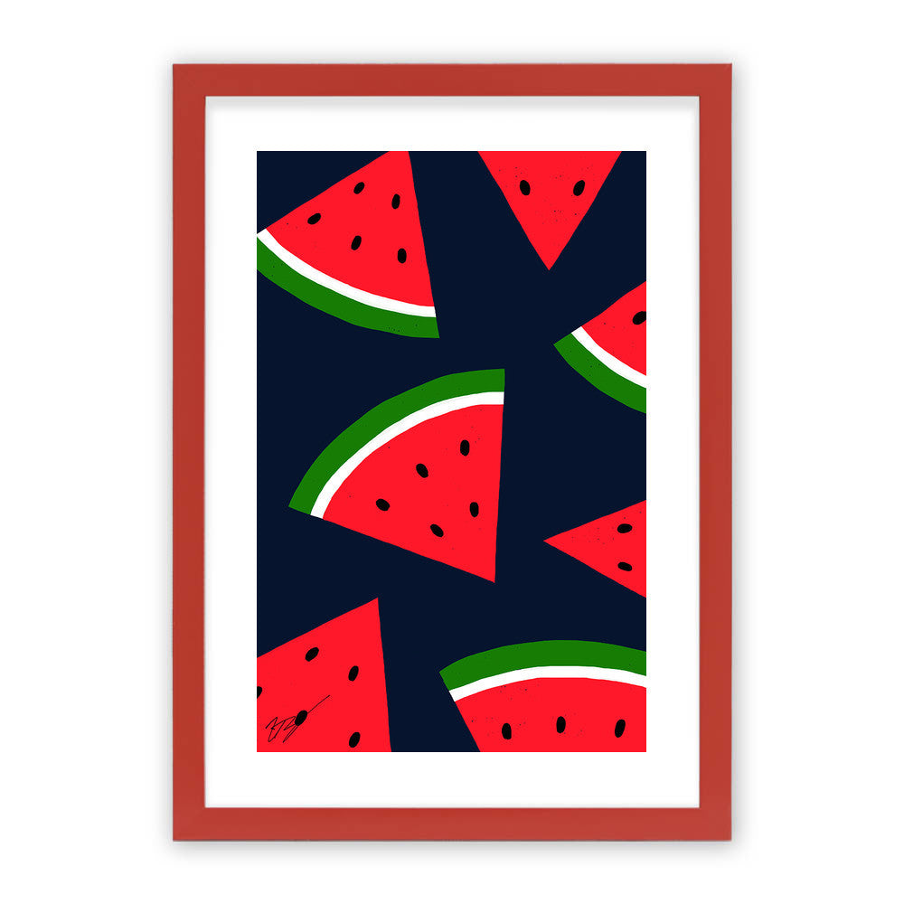 Watermelons by Magic Pineapple Art  - Magic Pineapple Art, Visualtroop - 3
