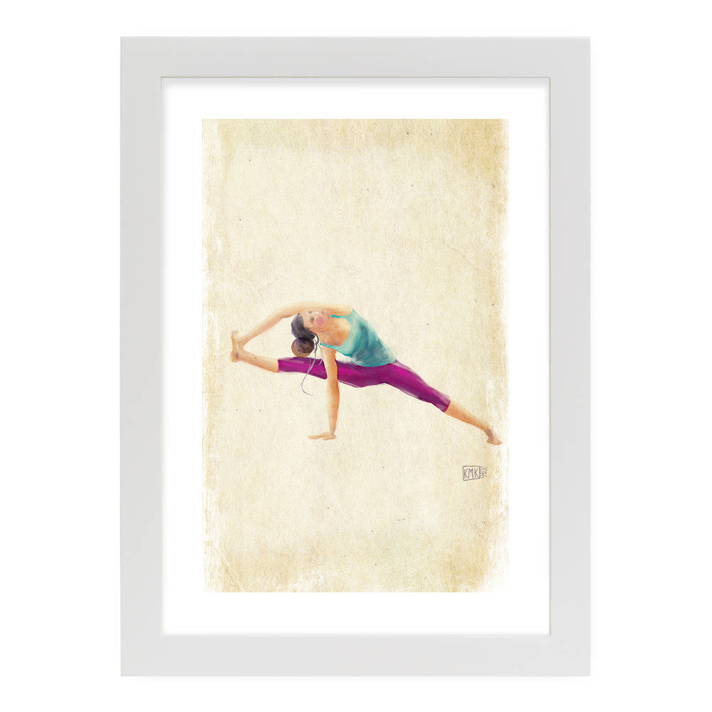 "Yoga Time by kmk White Standard / 12.5""x9.5"" - A4 Print / Photo (Semi-Gloss) - kmk, Visualtroop - 6"