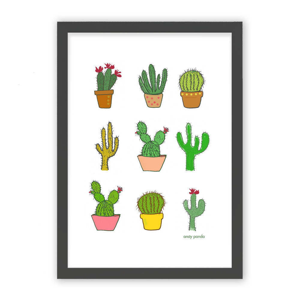 Colorful cactus by Andy Panda  - Andy Panda, Visualtroop - 1