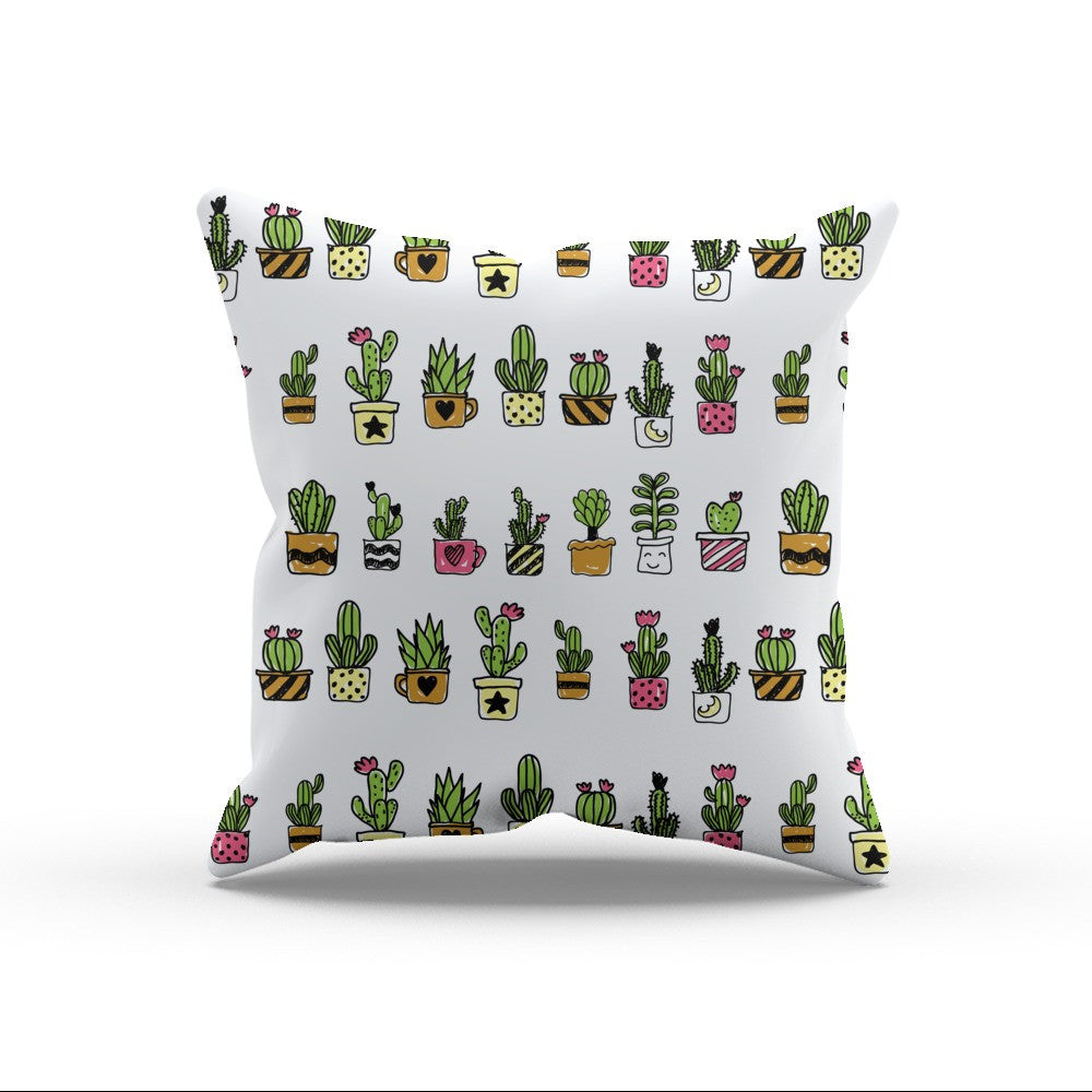 Cute Hand Drawn Cacti Pattern by cadinera  - cadinera, Visualtroop
