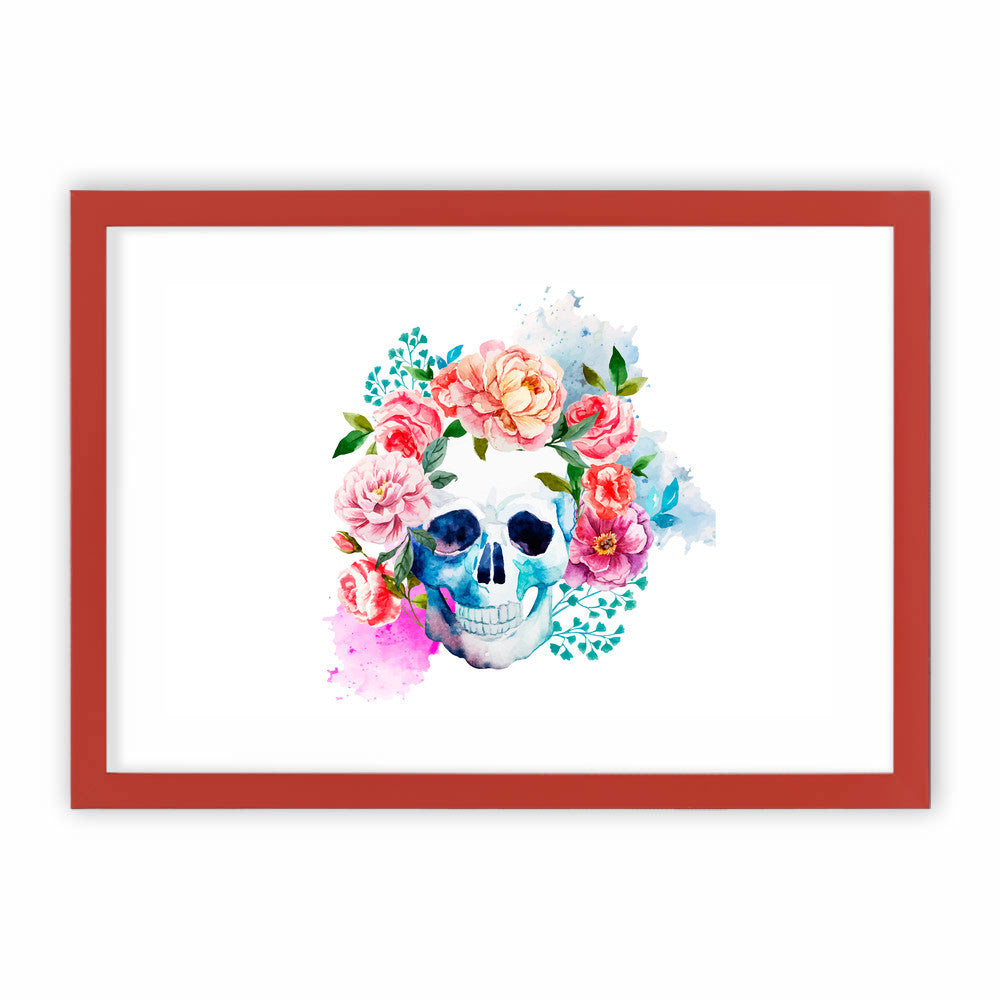 Beautiful Floral Skull by cadinera  - cadinera, Visualtroop - 3
