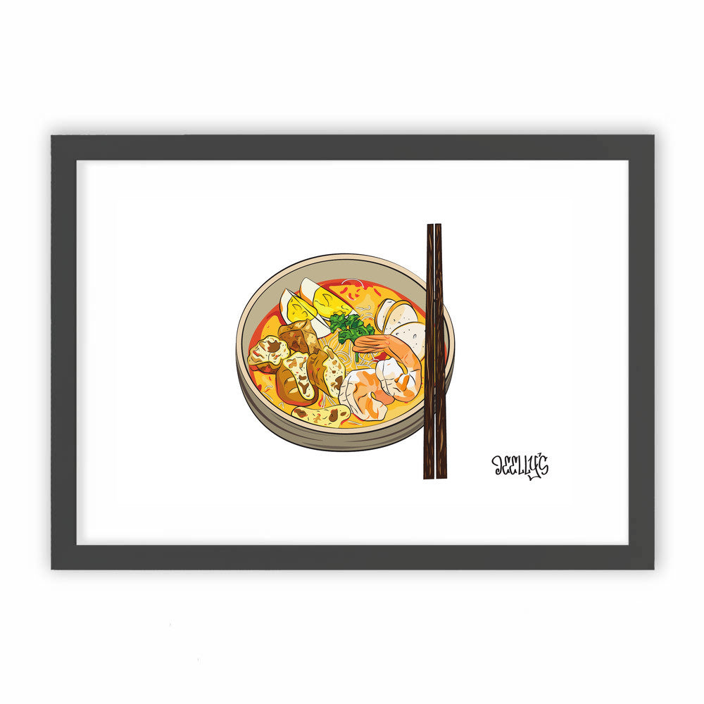 Singapore Makan: LAKSA by Deellys  - Deellys, Visualtroop - 1
