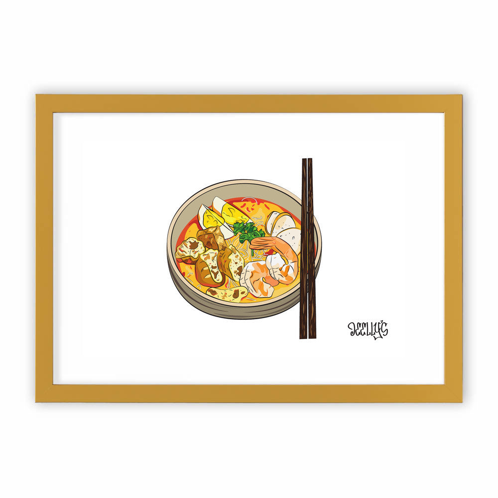 Singapore Makan: LAKSA by Deellys  - Deellys, Visualtroop - 4