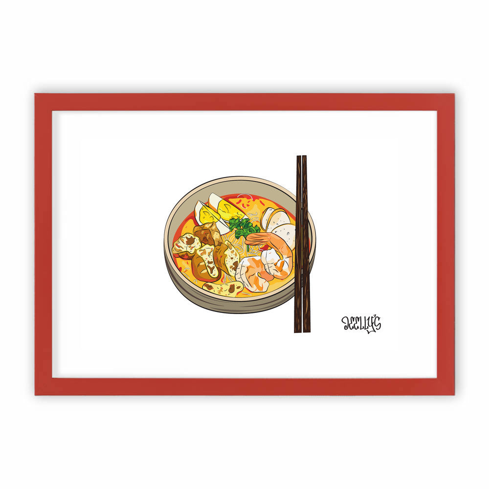 Singapore Makan: LAKSA by Deellys  - Deellys, Visualtroop - 3