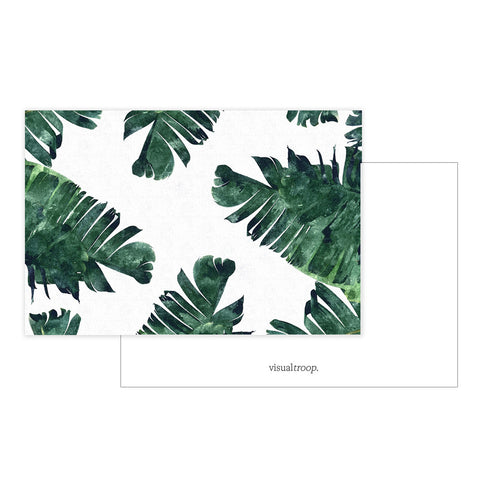 Banana Leaf Watercolor by 83 Oranges