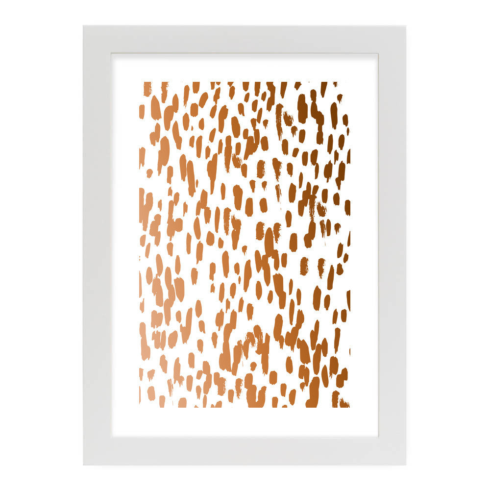 Copper Brushstrokes by 83 Oranges