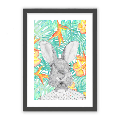 Rabbit tropical by SophieRousseau