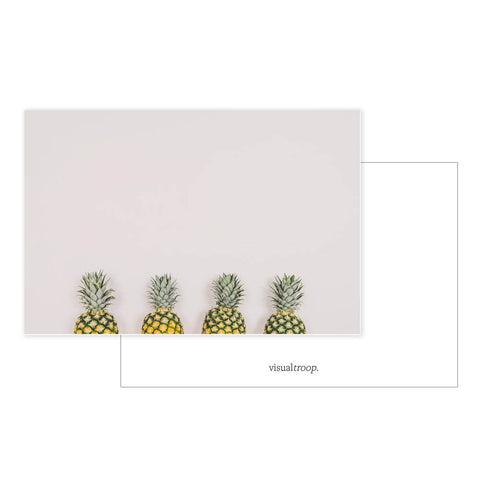 Lined pineapples by haar