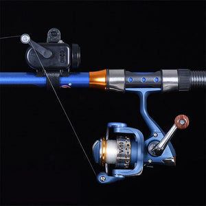LED Fishing Rod Bite Alarm Adjustable Fish Alarms Sound Alert